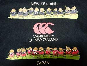 NEW ZEALANDとJAPAN