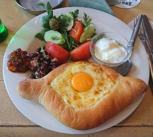 ジョージアの朝食