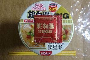カップヌードル 鶏白湯 ビッグ