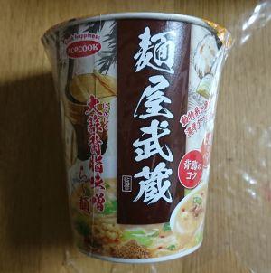 エースコック 麺屋武蔵監修 大蒜背脂味噌ら~麺
