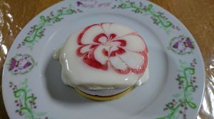 いちごのパンケーキ