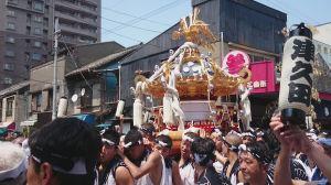 住吉神社例祭 2015 3日目(8月2日) 宮神輿渡御